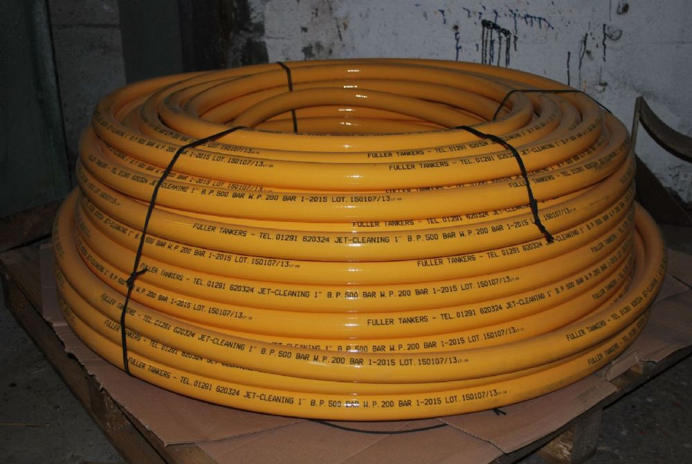100m Of 1 Fuller Thermoplastic Sewer Jetting Hose